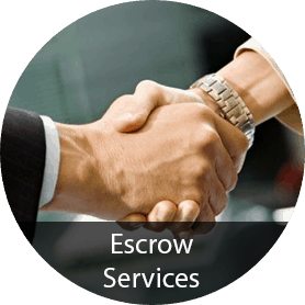 Submit a request for Escrow Services